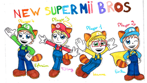 NEW SUPER MII BROS by HOBYMIITHETACTICIAN