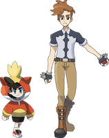 Gym Leader/Elite Four Arthur by NachtBeirmann