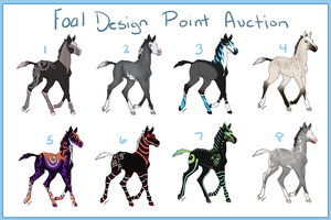 Foal Design Point Auction-DONE by o-AkiLove-o