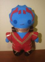mass effect samara plush, chibi style! by viciouspretty
