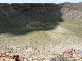 Meteor Crater by DancingInTwilight