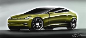 Exanon Coupe Concept by koleos33