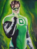 Green Lantern by marcushislop