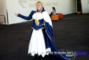 Fate Stay/Night Cosplay - Saber by RosalindRed