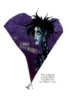 edward scissorhands by lordnecro