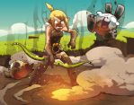WAKFU - explosive arrow by Kurunya