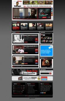 Video blog design by NicaChristian