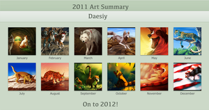 2011 Art Summary by Daesiy
