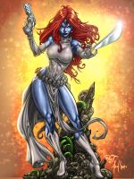 Mystique Color Contest by 00AceOfSpades00