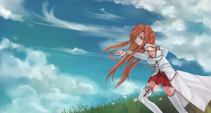 Sword Art Online - Asuna by pockyholic