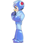 Mega Man by clairemadness