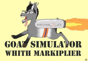 Markiplier Goat Simulator by BlackNinjaTwin