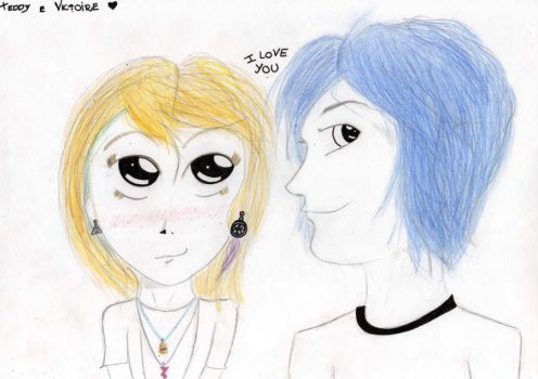 Teddy and Victoire by MariCestari