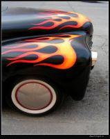 Flamed Lead Sled by colts4us