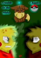 Trouble in the midst Chapter three cover by Skyrocker4cats