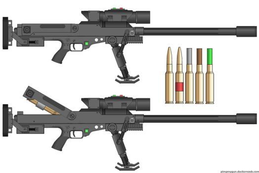 M-499 30mm Anti-Material Rifle by dronner66
