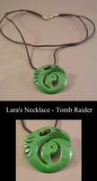 Lara's Necklace - Tomb Raider by Solvash
