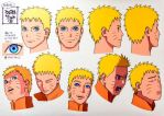 Adult Naruto- concept art by Tegan03
