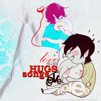 Love filled Hugs and Songs (2nd Version) by spazzgalore