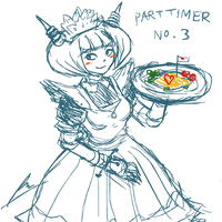 Maid cafe part timer no. 3 by borockman
