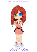 Chibi Commissions - KH: Kairi by trinity-angel777