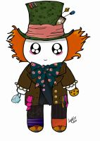 Mad Hatter MochiFace by PandoraLuv