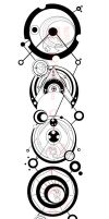 Gallifreyan Circle Script 4 by IkaikaDesign