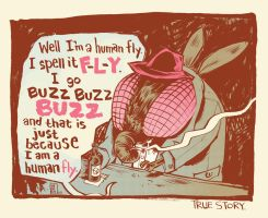Human Fly-colored by liliesformary
