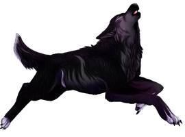 Violet Howl by Wolven-Sister