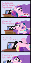 Comic Block: Long Distance by dm29