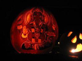 Pumpkin - Ganesha by snerk