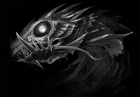 Deep Sea Sketch by KalaSketch