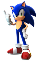 Creative Title of This Sonic Render (Updated) by FinnAkira