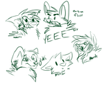 Stream Doodles by whitewolfspup
