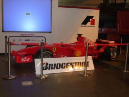 real f1 car by Rashley