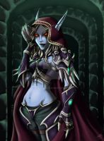 Sylvanas Windrunner by Niraven