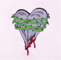 Strangled Heart by TheJokesOnYou