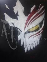 Ichigo Hollow Mask by TibbyART