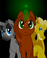 A comic about ponies. Cover. by Chumi-chan