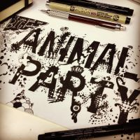 Big Freaking Animal Party by Brantarr