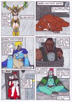 Otherworld Chapter IV: Team 5 Page 1 by Branded-Curse