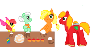 Thanksgiving with the Apple family. by Fmaluver01