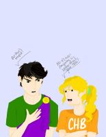 Percy and Annabeth Arguing...Again by SilverLizzy5