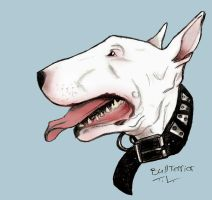 Smiling Bull Terrier by tree27