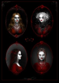 Four of a kind by Daywish