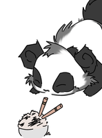 Baby Panda by Snappehs