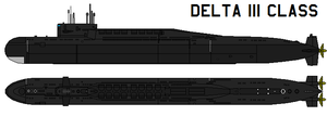 Delta III class by bagera3005