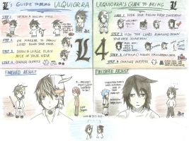 L's and Ulqui's Guides to Being Each Other by cholokmosooki