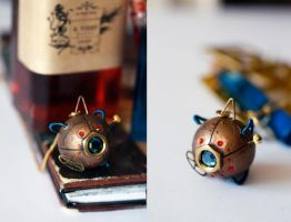 'Edgar' - Steampunk pendant by Catarios