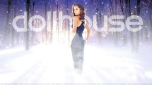 Eliza Dushku Echo in the Snow. by Dave-Daring